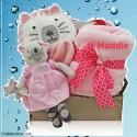 A Beautiful Kitty Gift Basket