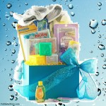 Bath Time for Baby Baby Basket