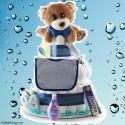 Little Boy Blue Baby Diaper Cake