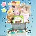 Cowgirl Baby Gift Basket