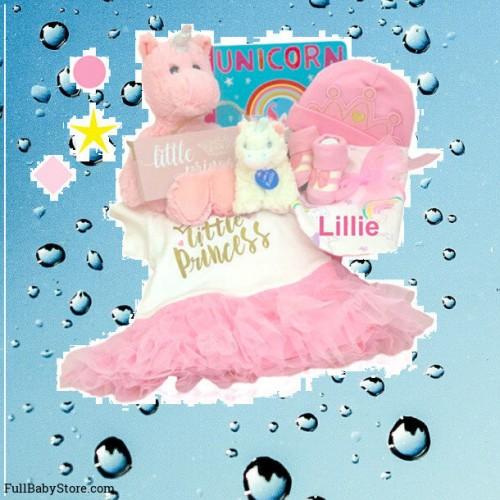 Deluxe Little Princess Unicorn Baby Gift