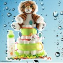 Lions and Tigers, Oh My Baby Diaper Cake