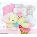 Lamby Nap Time Gift Basket-Girl