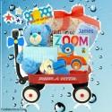 Zoom Zoom Baby Boy Wagon
