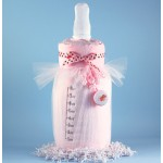 Baby Bottle Blankie Baby Girl Gift