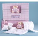 Baby Girl Gift-Knitted Sweater Set & Keepsake Album