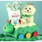 Baby Shower Gift- Caterpillar Plush Welcome Wagon