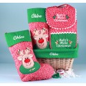 Baby's 1st Christmas Gift Basket-Personalized