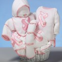 """Ballet Slippers"" Baby Gift Basket"