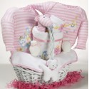 Catch-A-Star Girl Baby Gift Basket