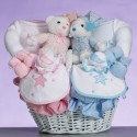 """Celestial"" Baby Gift Basket-Gift For Twins"