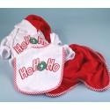 """Christmas """"HO, HO, HO"""" Baby Gift Set"""