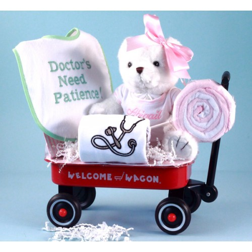 Doctor's Need Patience Personalized Baby Girl Gift