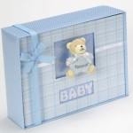 Forever Baby Book Keepsake Photo Album-Baby Boy Gift