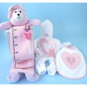Hearts & Flowers Baby Girl Gift Set