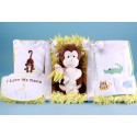 Jungle Themed Layette Baby Gift Set