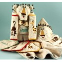 """Lion"" Hooded Towel Baby Gift Set"