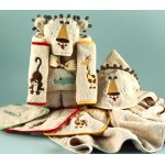 """Lion"" Hooded Towel Personalized Baby Gift Set"