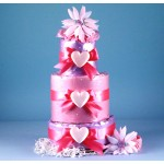 """Little Heart of Mine"" Diaper Cake"