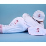 Monogrammed 3-Piece Outfit Baby Girl Gift