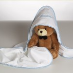 Personalized Hooded Towel & Plush Bear Baby Boy Gift