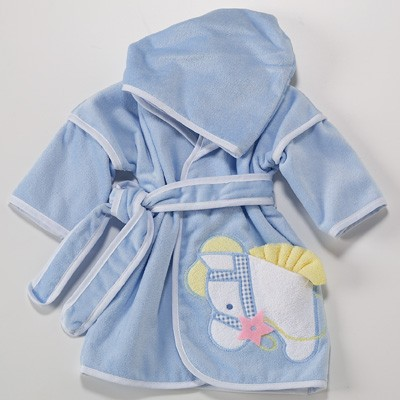 Pony Hooded Cover-Up Personalized Baby Gift