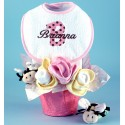 Pots of Luck Personalized Baby Girl Gift