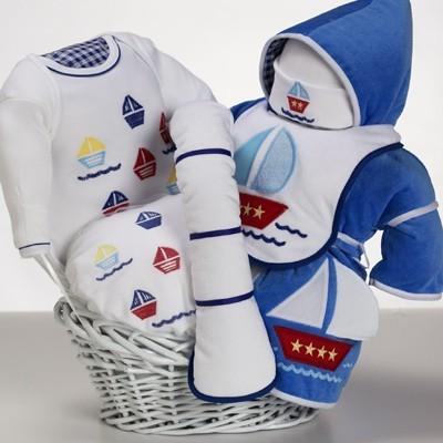 Sail Away Baby Gift Basket