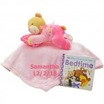 Bedtime Bear and Blanket Set PINK