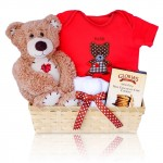 Baby Bear Hugs Gift Basket
