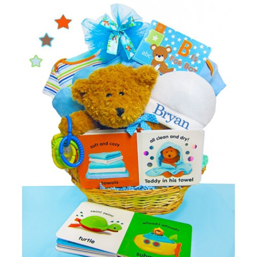 B Is For Boy Gift Basket