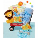 Jungle Jamboree Baby Boy Wagon