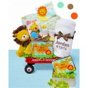 Jungle Jamboree Baby Wagon- Neutral