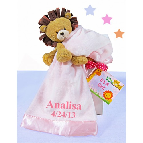 Little Lion Gift Box-Pink