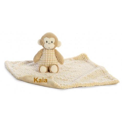"""Monkey and 18"""" Blanket"""