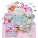 Personalized Lamby Love Moses Basket
