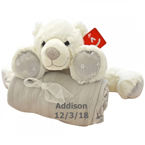 Roly Poly Polar Bear Gift Set