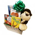 Unisex Happy Baby Gift Box with Board Books and Jungle Animal