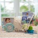 Bundle of Joy New Baby Basket - Blue