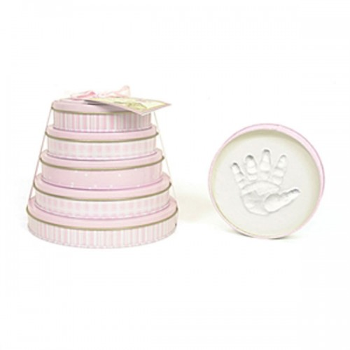 Child To Cherish Tower of Time Handprint Kit Pink