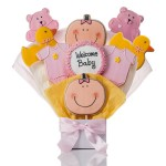 It's A Girl! Cookie Bouquet