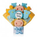 It's A Boy! Cookie Bouquet
