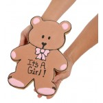 Giant New Baby Bear Sugar Shortbread Cookie